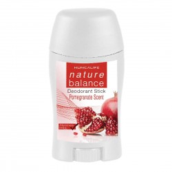 NATURE BALANCE solid deodorant with pomegranate