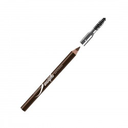 Eyebrow pencil with brush - brown