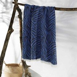 CARNIVAL beach towel blue