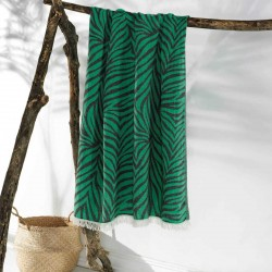 CARNIVAL beach towel green