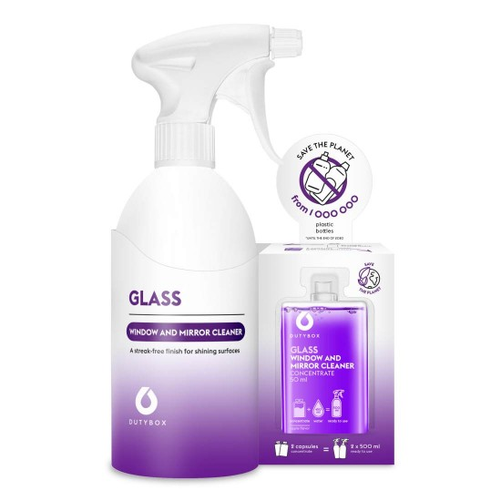 Dutybox Set - GLASS glass cleaner