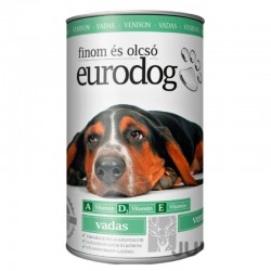 EuroDog VENISON can for dogs 1240 grams