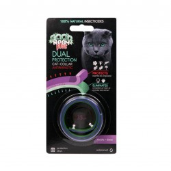 GOOD NEEM - Antiparasitic two-layer biological collar for cats 35 cm