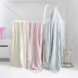 JESSE knitted baby blanket 80 x 110 cm Issimo Home