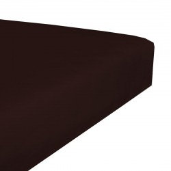 Jersey waterproof stretch bedsheet - Chocolate