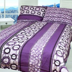 ALBERTA cotton bedding - purple