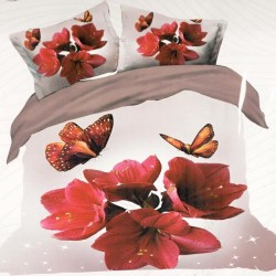 ORCHIDE flannel bed linen