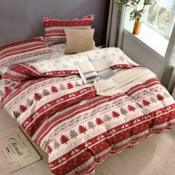 CHRISTMAS bed linen - red